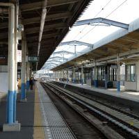 成田高速鉄道ただいま工事中>北総線東松戸駅@千葉県松戸市