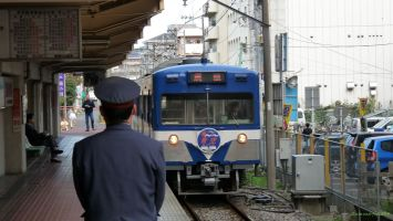 幸谷駅にて馬橋行き