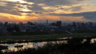 里見公園からの景色