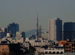 さらに東京タワーをズームアップ