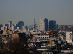東京タワーをズームアップ