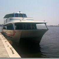 土浦から潮来に船で行って見た(1)>土浦港@茨城県土浦市
