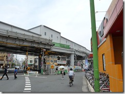 高砂駅の高架