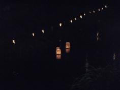 竹行燈の列に誘われて