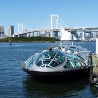 水上バスに乗ってみた>お台場海浜公園@東京都