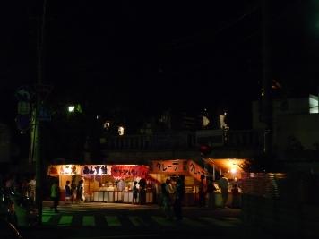 矢切神社周辺の露店
