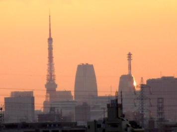 東京タワーズームアップ