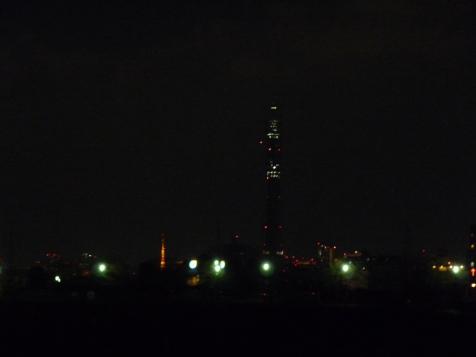 東京スカイツリーと東京タワー