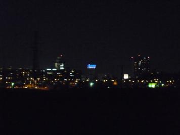 松戸駅周辺の街明かり