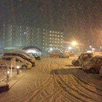 雪が積もっちゃった矢切@千葉県松戸市