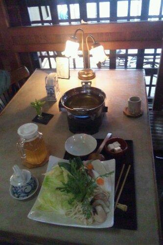 地元野菜の鍋