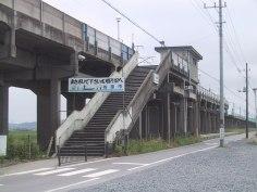 JR鹿島線 十二橋駅 03.06.08.撮影