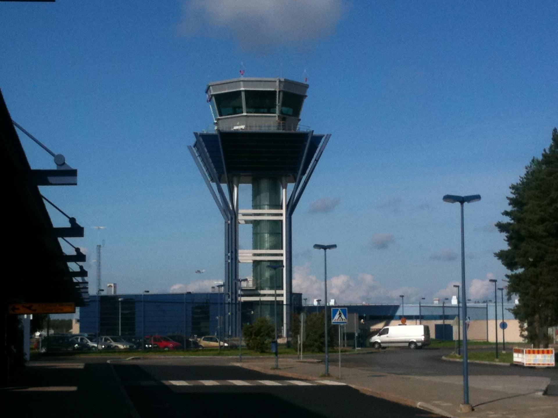 オウル空港@フィンランド共和国...