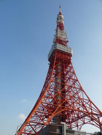 東京タワー、確かに先っちょが・・・