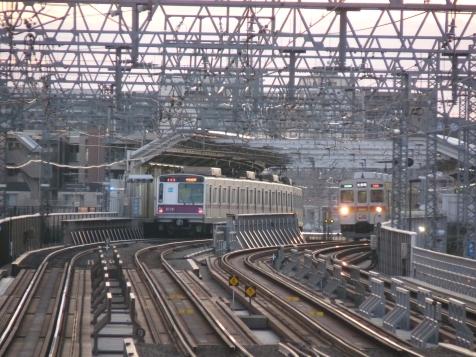 対岸の駅:二子新地@神奈川県川崎市