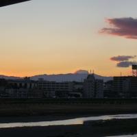 二子玉川駅から見る都県境@東京都世田谷区