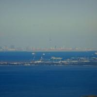 鋸山山頂からの眺め@千葉県富津市