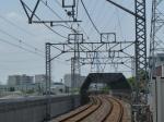オマケ:新柴又駅から見る東京スカイツリー