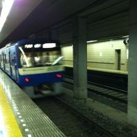 京急の青い車両@北総線矢切駅