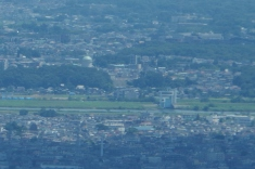 栗山浄水場と柳原閘門