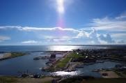 九十九里浜最北端