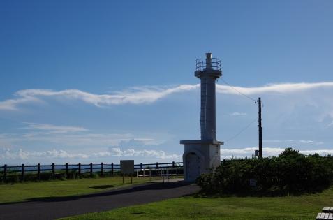 犬吠埼と比べるとこじんまりとした灯台