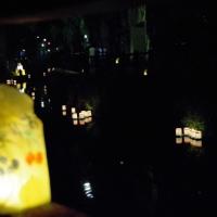 佐原小野川の灯篭流し@千葉県香取市