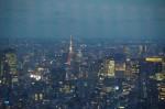 東京タワーを見下ろす夜景