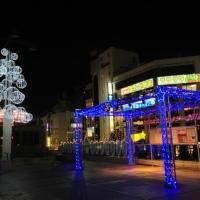 クリスマスイルミネーション@松戸駅西口
