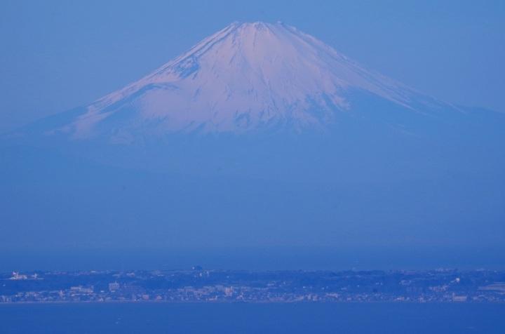 Mt.Fuji Beyond Miura Peninsula