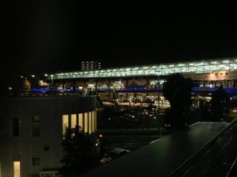 夜の岐阜駅