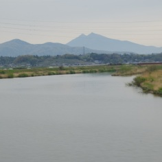 途中の景色@茨城県