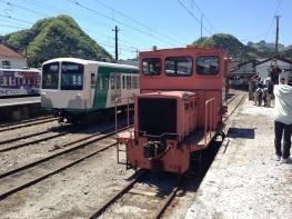 下仁田駅の保守車両