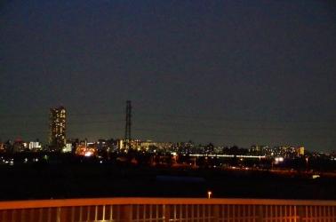 金町駅方面と常磐線