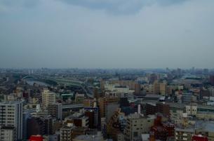隅田川と首都高中央環状線