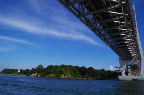 PAがある与島と瀬戸大橋