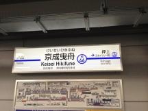 新しい駅名板