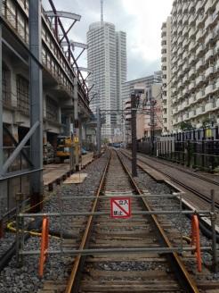 使われなくなった線路