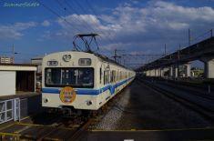 後半車両は秩父鉄道塗装