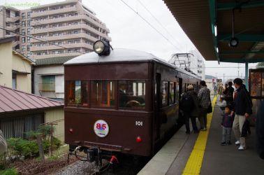 西桐生駅にて