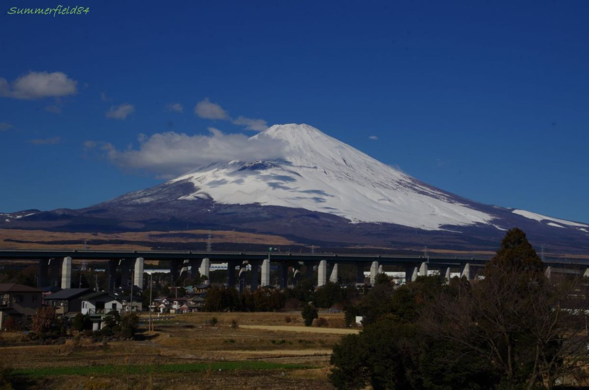 富士山@御殿場市富士見台