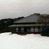 雪の中庭開放@松戸市戸定邸