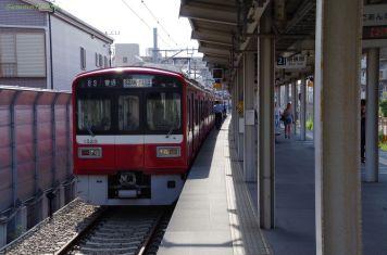 小島新田駅からの帰りの電車