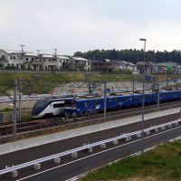 京急の青い車両@印旛日本医大駅