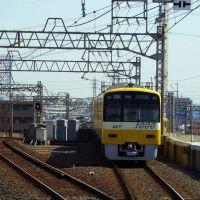 幸せの黄色い電車@青砥駅