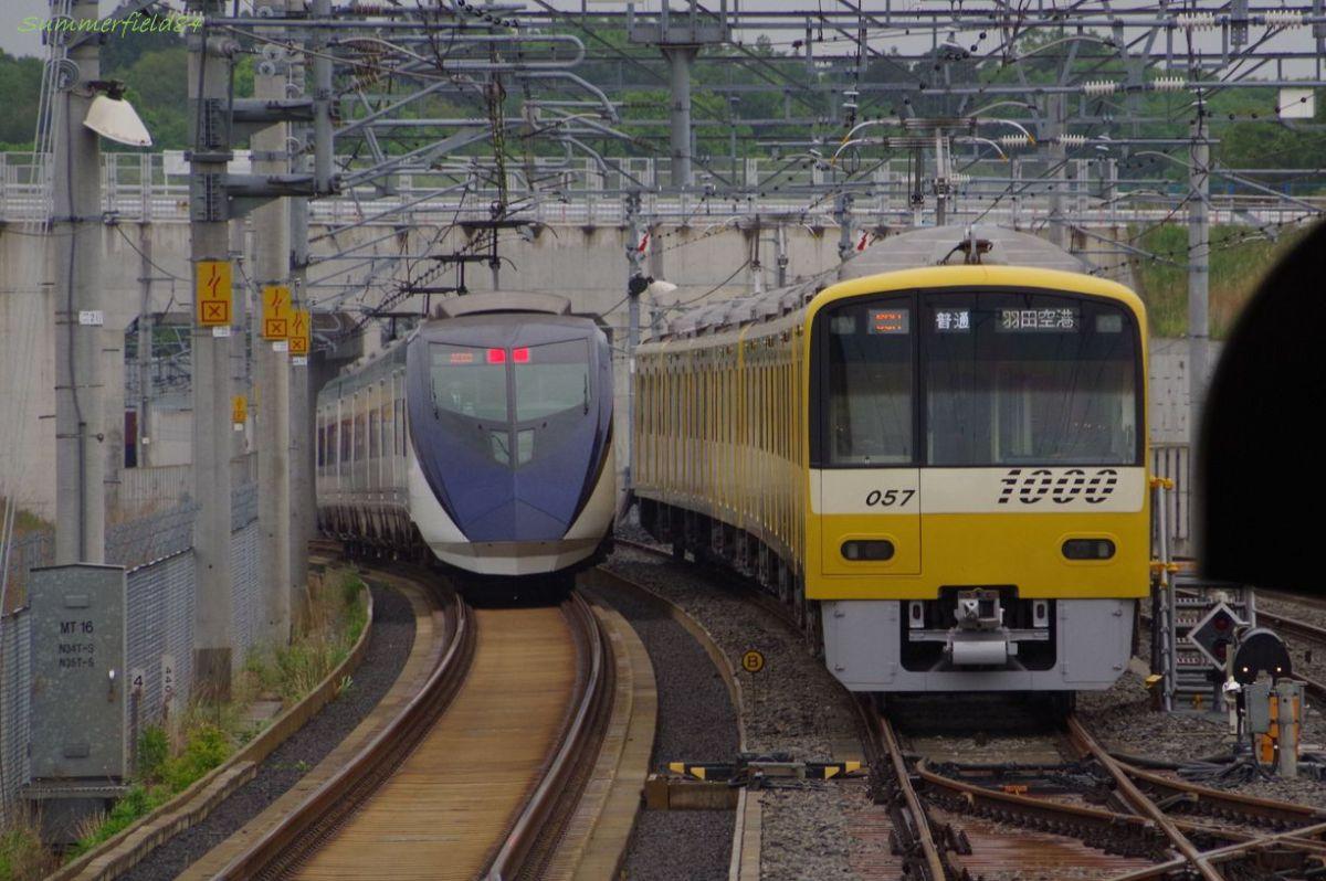 幸せの黄色い電車@北総線