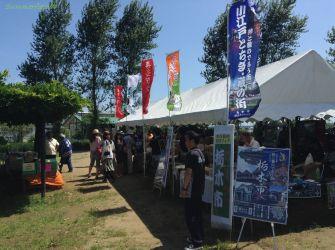 友好都市の喜多方市、小江戸つながりの川越市と栃木市も出店。