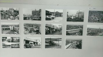船橋駅の写真展