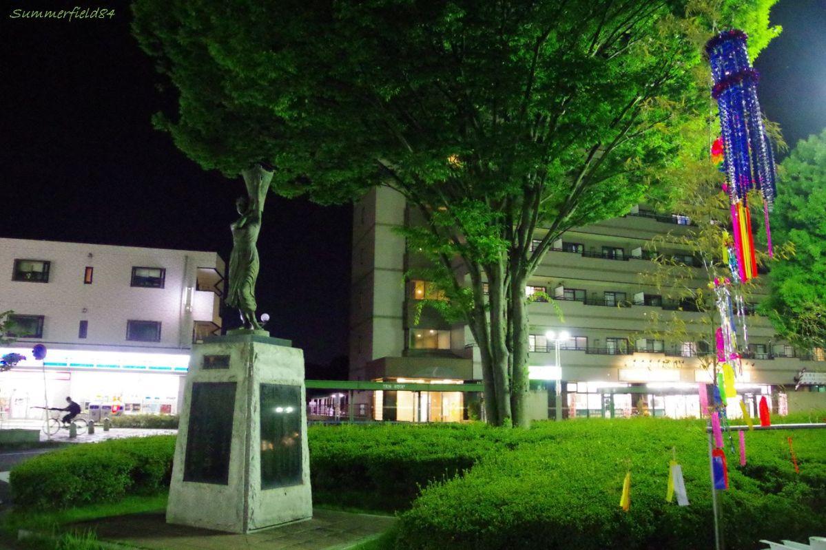七夕まつり@北総線北国分駅前