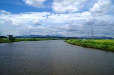 恋瀬川通過中
